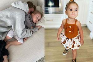 Vẻ đáng yêu ngọt ngào của cô bé 2 tuổi là em gái Justin Bieber