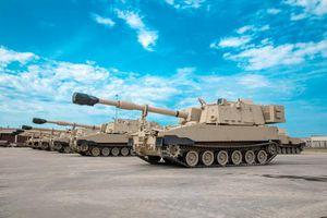 Quân đội Mỹ bắt đầu khai thác quy mô lớn pháo tự hành M109A7
