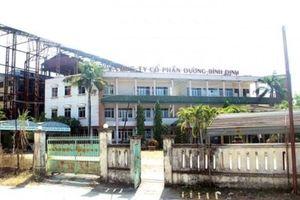 Bình Định: Công ty Cổ phần đường nợ 1.000 tỷ đồng, bị đưa ra đấu giá tài sản