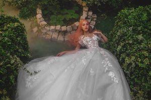 Xu hướng váy tùng ngắn, đính voan lộng lẫy làm bao nàng say lòng khi mùa cưới sắp đến
