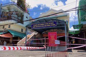 Lịch trình 'khủng' của người mắc COVID-19 bán mắm dưa tại 2 chợ ở Đà Nẵng