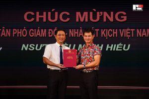NSƯT Kiều Minh Hiếu giữ chức Phó Giám đốc Nhà hát Kịch Việt Nam