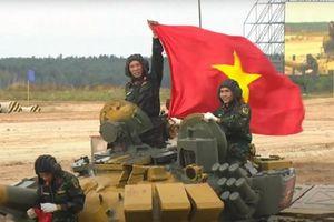 Chạy nhanh, bắn chuẩn... tuyển xe tăng Việt Nam khai trận Army Games thắng lợi!