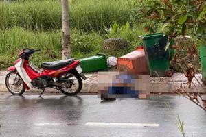 Vụ thi thể người đàn ông bên vệ đường: Hé lộ hiện trường bất thường