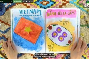 Kênh Youtube Great Big Story giới thiệu bánh tét Việt Nam
