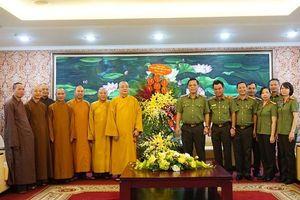 Các vị chức sắc tôn giáo thăm, chúc mừng Giám đốc Công an Hà Nội