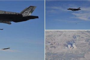 Đòn hủy diệt của F-35A khi mang tới 8 quả GBU-39