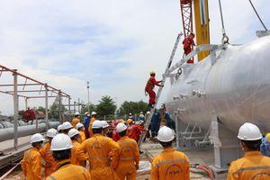 Thực hiện cải hoán tại GPP Dinh Cố để tiếp nhận khí NCS2: KTV tập trung hoàn thành nhiệm vụ