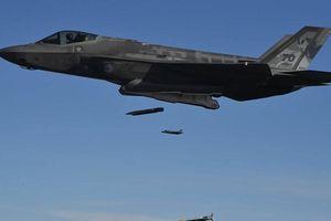 Phi công F-35 thử nghiệm thả 16 quả bom lượn