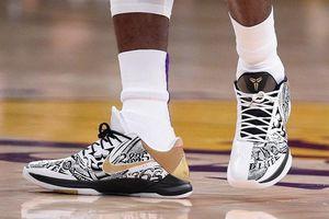Nike bán giày, áo thi đấu tôn vinh Kobe Bryant