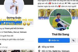 Hàng loạt cầu thủ bị mất tài khoản facebook chỉ trong một ngày