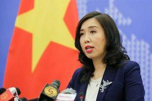Việt Nam yêu cầu Trung Quốc hủy bỏ tập trận tại Hoàng Sa