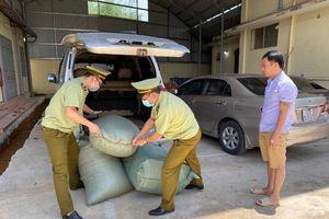 Lạng Sơn: Tiêu hủy hàng trăm kilogram thuốc bắc không rõ nguồn gốc