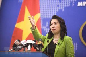 Việt Nam yêu cầu Trung Quốc hủy tập trận ở Hoàng Sa, không tái diễn vi phạm