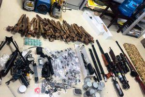 Thanh niên 23 tuổi chế tạo súng bị phạt 33 triệu đồng
