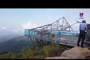 Bình Thuận tháo dỡ công trình trái phép trên đèo Đại Ninh