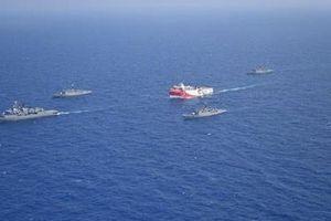 'Nóng' tranh chấp khí đốt tại Địa Trung Hải