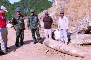 Phát hiện quả bom tấn tại một mỏ đất