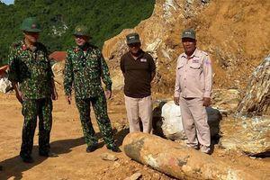 Hủy nổ an toàn quả bom nặng hơn 450 kg ở Quảng Bình