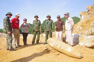 Xử lý an toàn quả bom xuyên phá nặng 450kg