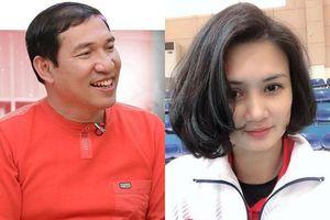 Quang Thắng kể khoảnh khắc ngại ngùng khi đứng cạnh 'Hoa khôi bóng chuyền' Kim Huệ