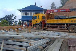 Tháo dỡ xong trạm dừng chân Panorama xây trái phép ở đèo Đại Ninh