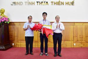 Thừa Thiên Huế: Tuyên dương, khen thưởng học sinh đạt Huy chương Vàng kỳ thi Olympic Sinh học Quốc tế năm 2020