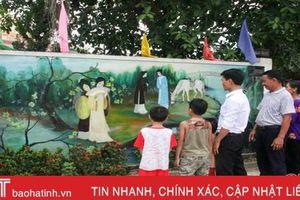 Làng quê ở Hà Tĩnh tự hào mỗi ngày 'mở cửa đã thấy nàng Kiều'