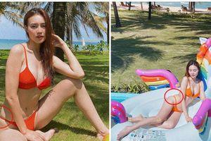 Cùng kiểu bikini, Hương Giang đẹp mê li, Ninh Dương Lan Ngọc gây tiếc nuối còn Thúy Vi bị 'dìm' toàn tập
