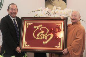 Phó thủ tướng Trương Hòa Bình chúc mừng đại lễ Vu Lan