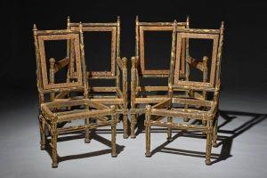 Lạ kỳ 4 chiếc ghế không có chỗ ngồi và lưng tựa nhưng vẫn có giá tới 32 tỷ đồng