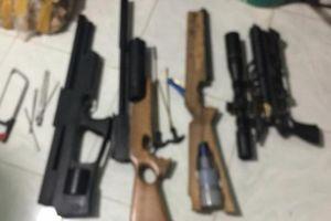 Vĩnh Long: Hai thanh niên thuê nhà dân chế tạo súng