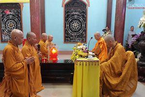 Lễ tạ pháp an cư tại tổ đình Vạn Thọ