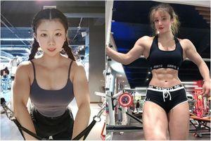 Dàn gái xinh gây ấn tượng nhờ 'mặt học sinh, thân hình lực sỹ'