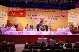 Đồng chí Nguyễn Thị Minh Hồng đắc cử Bí thư Đảng ủy Khối ĐH-CĐ TP.HCM nhiệm kỳ 2020-2025