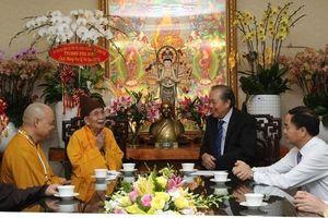 Phó Thủ tướng Thường trực Trương Hòa Bình chúc mừng lễ Vu Lan