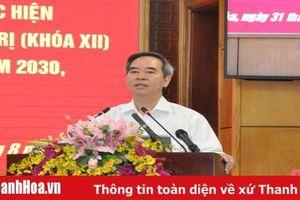 Đồng chí Nguyễn Văn Bình, Ủy viên Bộ Chính trị, Bí thư Trung ương Đảng, Trưởng ban Kinh tế Trung ương: Thanh Hóa sẽ trở thành một cực tăng trưởng mới