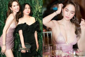 Phượng Chanel lên đồ khác biệt, chiếm spotlight tại tiệc mừng của Ngọc Trinh