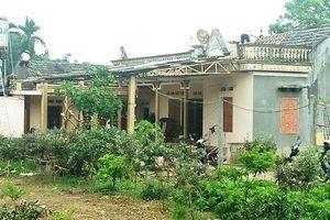 Hàng chục nhà dân hư hỏng, thiệt hại gần 1 tỷ đồng do thiên tai