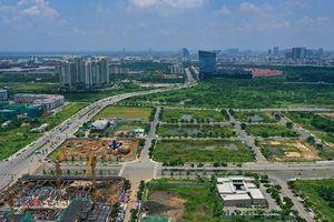 Suất đầu tư 4 tuyến đường KĐT Thủ Thiêm không cao
