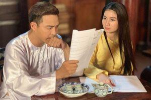 Diễn viên Thanh Duy: 'Đóng phim với vợ còn áp lực hơn cảnh hôn với bạn diễn nữ'