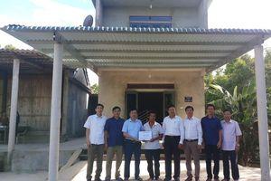 Hà Tĩnh: Bàn giao 100 căn nhà tránh lũ cho người dân miền núi