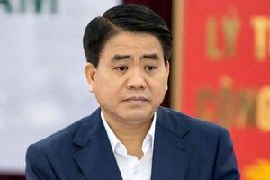 Ông Nguyễn Đức Chung bị đình chỉ tư cách đại biểu HĐND TP. Hà Nội