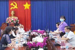 TP.Biên Hòa: Tìm phương án tháo gỡ những khó khăn trong hoạt động công nghiệp - thương mại