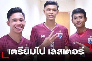 Thái Lan gửi 3 'sao' trẻ sang CLB Leicester City nhờ đào tạo