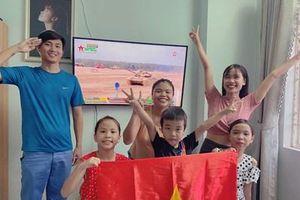 Cảm xúc dâng trào khi Đội xe tăng Việt Nam về đích đầu tiên