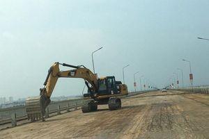 Thực hư công nghệ sửa mặt cầu Thăng Long có xuất xứ Trung Quốc