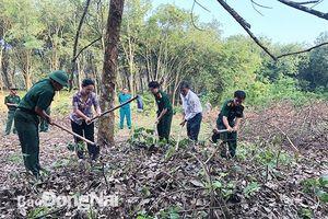 Ban chỉ đạo 515 tỉnh và H.Long Thành tổ chức tìm kiếm cất bốc hài cốt liệt sĩ