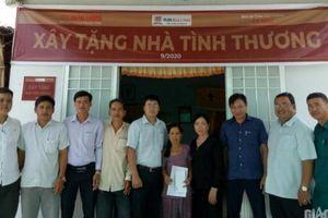Báo Giao thông trao tặng nhà tình thương 4 gia đình nạn nhân TNGT ở Cà Mau