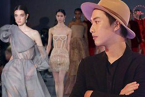 Thông tin NTK Trần Hùng xuất hiện trên trang chủ của 'London Fashion Week 2020'